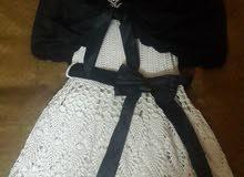 فستان كروشيه ..