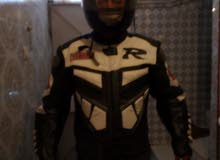 Yamaha Bikers Jacket and Helmet