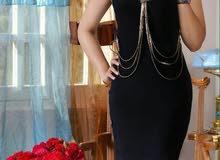تفضيضاااات   فستان قصير  قماش فيزون قياسات 38-40-42-44