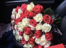 خدمة تنسيق الزهور والتوصيل المجاني