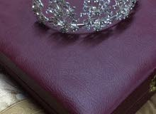 فستان ابيض عرس للايجار او البيع ايجار 150او بيع 450