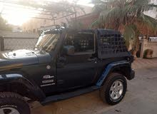Manual Black Jeep 2007 for sale