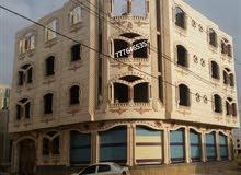 عماره حديثه مسلح هردي.4دور حجر.7 لبن حر.شارعين.14و12.مصممه لسبعه دور.في صنعاء.