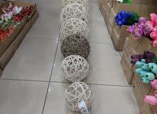 كرة شبك ديكور مقاسات مختلفة اسعار جملة