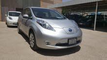 Silver Nissan Leaf 2015 for sale