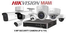 تركيب و تصميم انظمة الحماية و المراقبة  (كمرات المراقبة , انظمة الدوام) كميرات كاميرات
