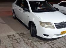 White Toyota Corolla 2007 for sale