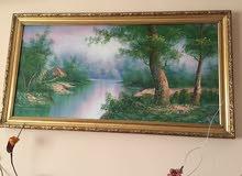 للبيع لوحة (تابلوه) شيك لمنظر طبيعي