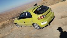 Yellow Daewoo Lanos 2002 for sale