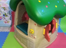 لعبة كوخ الفطر لأطفال الحضانات والروضات