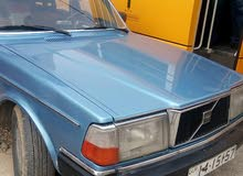 Volvo 240 car is available for sale, the car is in Used condition