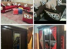 غرف نوم جديدة حسب الطلب و اوض قعدة جاهز وحسب الطلب