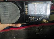 راديو إنترناشيونال 10 موجات ب2حجر قلم بحاله ممتازه