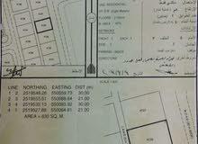 أرض للبيع في مخطط النعامات