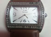 ساعة حريمي اورجنال  ياباني مرصعة  للبيع