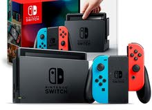 Nintendo Switch neon consoles