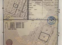 للبيع ارض تجارية ممتازة في العامرات المحج مفتوحة على شارعين قريبة من الشارع العام