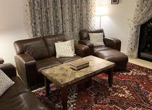 American Furniture & Tables. أدلى الأرائك الأمريكية. 100 ٪ جلد إيطالي حقيقي