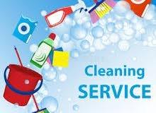 خدمات التنظيفات بنظام الساعات
