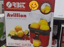 عصارة البرتقال والليمون