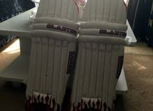 two cricket pads for sale