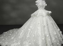 فستان زفاف للبيع عاجل