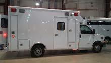 سيارة إسعاف الفئة الثالثة جي ام سي سافانا 2013