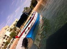 قارب زجاجي للبيع