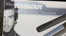 ماركة TONI&GUYلتصفيف الشعر وتنعيمه في ثواني سهل ااستعمال