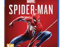 لعبه spiderman ps4