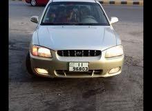 Gasoline Fuel/Power   Hyundai Verna 2001