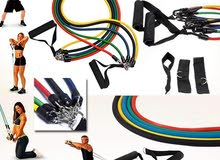 fitness and Gym resistance bands