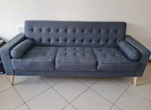 Dark Grey 3-Seater Couch