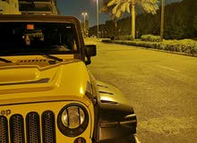 Gcc jeep wrangler selling or exchanging with adding money