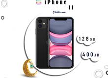 اقوى عرض بالاردن iPhone 11 128G مستخدم