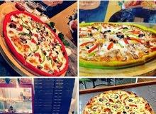 بيتزا تحدي بالطعم