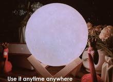 صب قمر مضئ