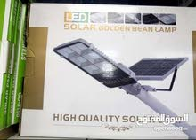 كشاف طاقة شمسية مع عامود للانارة عن طريق طاقة شمسية ولساعات طويلة/ 300 واط