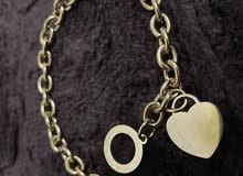 18k Heart Bracelet