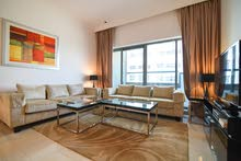 دبي بيزنس باي غرفتين وصالة  سوبر لوكس مع بلكونة  شهري شامل