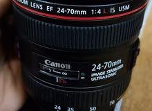 canon zoom lense EF (24-70 mm )1.4 L IS USM