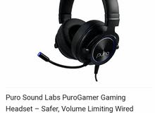 PuroGamer Gaming Headset, Noise Canceling With Mic. Brand New