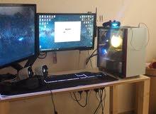 TuF gaming GTX SUPER كمبيوتر للقيمنق بحاله جديده مع شاشه وملحقاتهه يشغل كل الالعاب