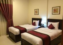 شقة غرفتين وصاله مفروش فرش راقى على شارع خليفة بجوار هايبر ماركت اسطنبول الجديد