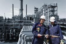 شركة بترول كبرى متخصصة فى ( حفر وصيانة أبار ) تطلب موظفين  وموظفات