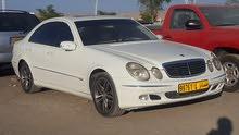 White Mercedes Benz E 240 2004 for sale