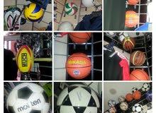 لجميع الرياضات:كرة قدم - باسكيت - هوند - فولي -تينيس.....