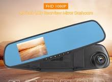 شاشة عرض مع كاميرة بقوة 1080 اتش دي مرآة سيارة