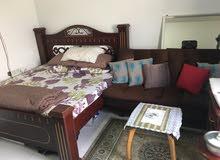 master bedroom fully furnish open balconly inner bathroom