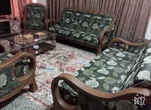 تخم قنفات خشب صاج عشر مقاعد نظيف جدا جدا السعر 600 الف